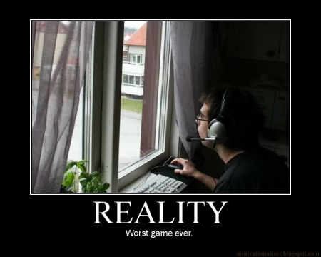 reality motivational poster